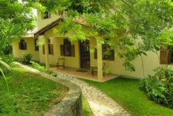 Front of villa 1