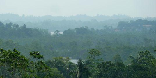 Elevated land surrounded by lush views – Kathaluwa