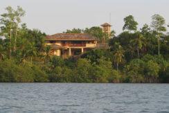 Villa from lake