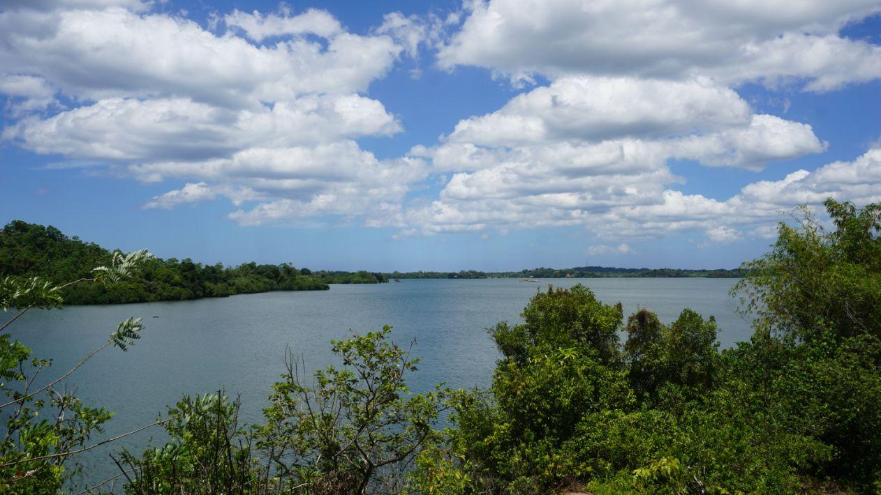 Perfect position on Koggala lake