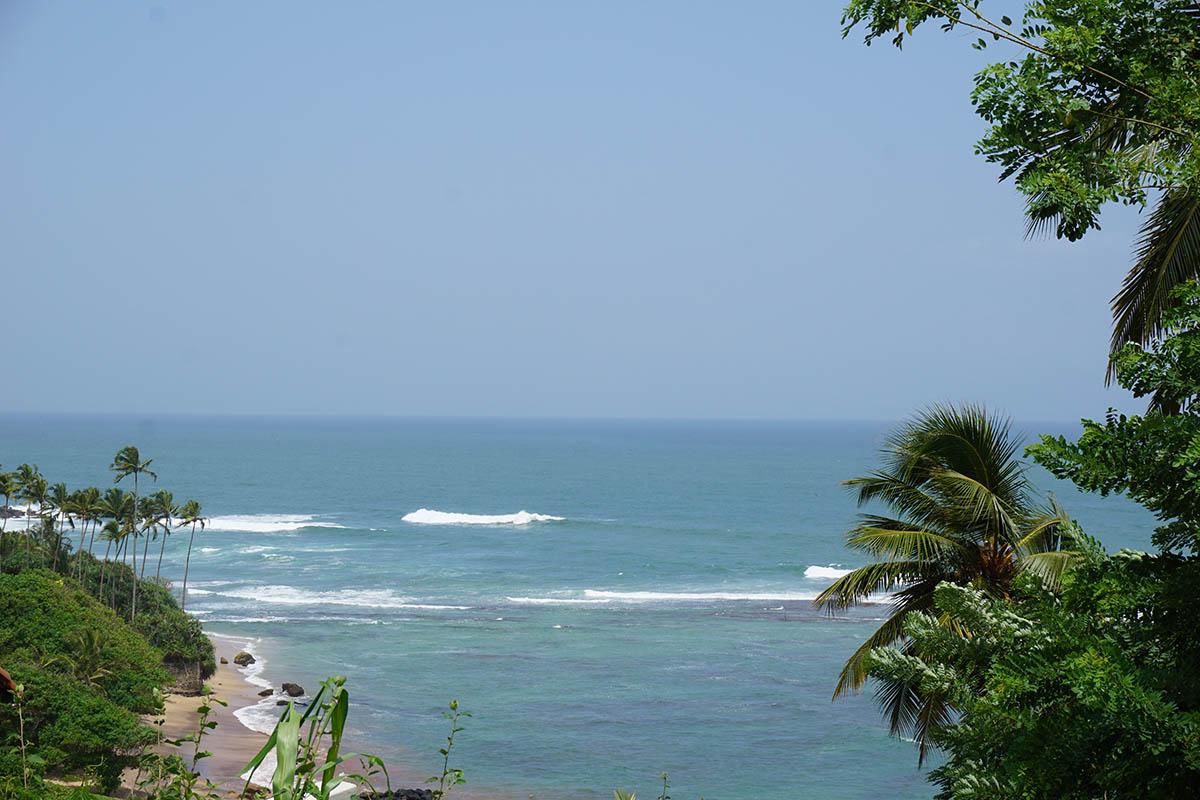 Captivating sea views