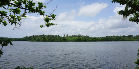 A wonderful property slightly elevated with Rathgama Lake views