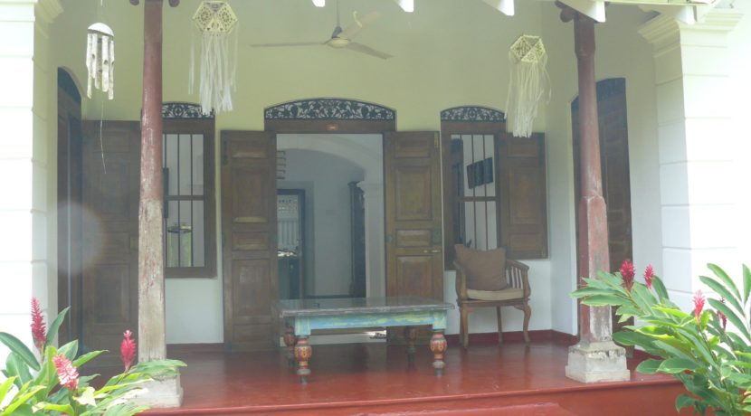 veranda at front