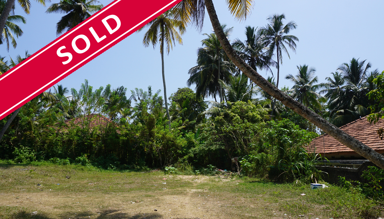 Bare land, development, close to a great surfing beach