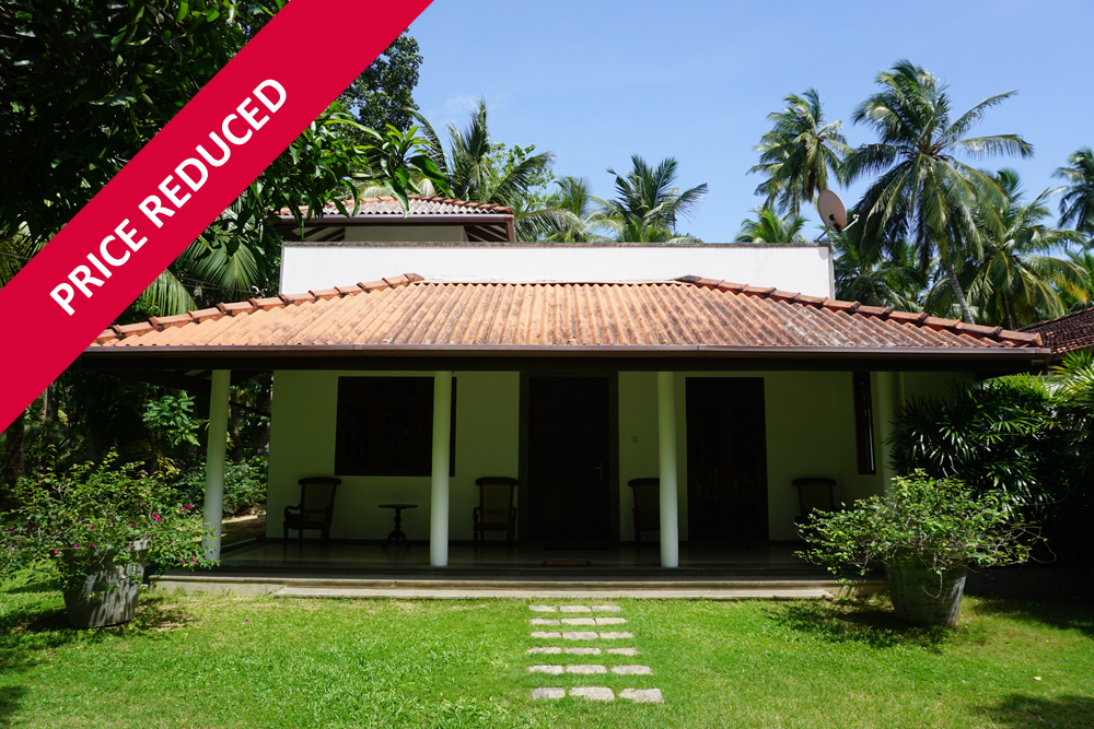 A delightful 1-acre property in a prime position in Unawatuna
