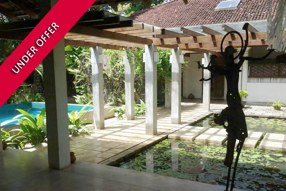 Idyllic colonial villa in the heart of Welligama