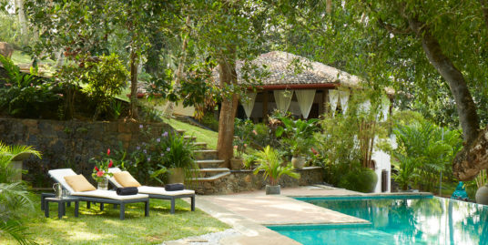 A delightfully warm and atmospheric villa