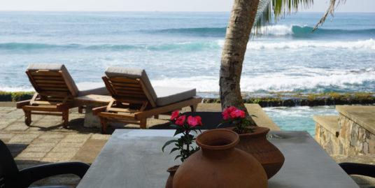 Tropical paradise seaside apartments