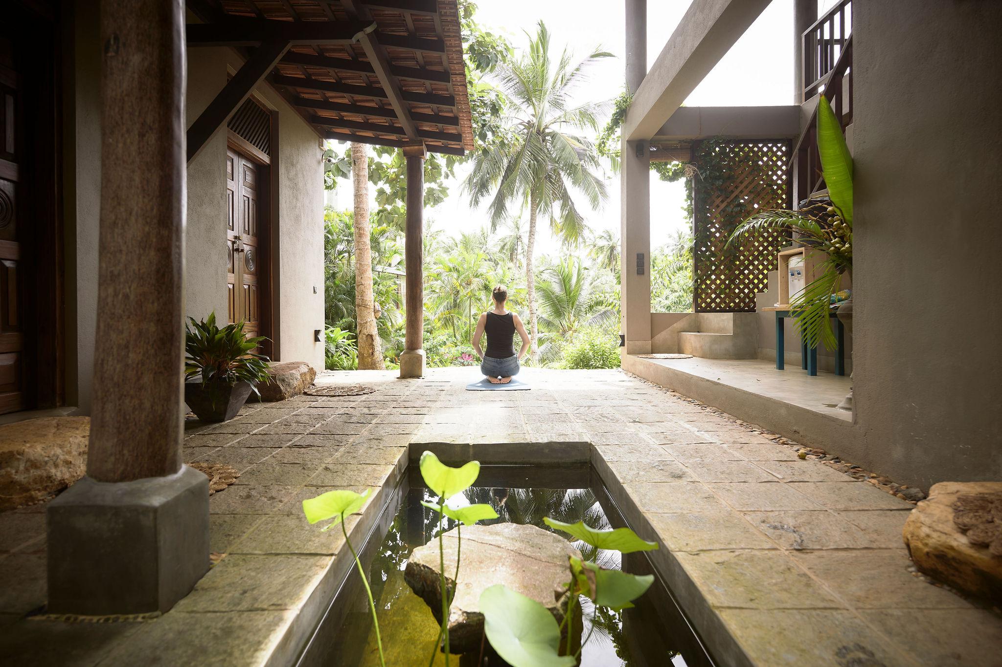 A true gem, eco-friendly guesthouse close to Hiriketiya beach with luscious jungle surroundings