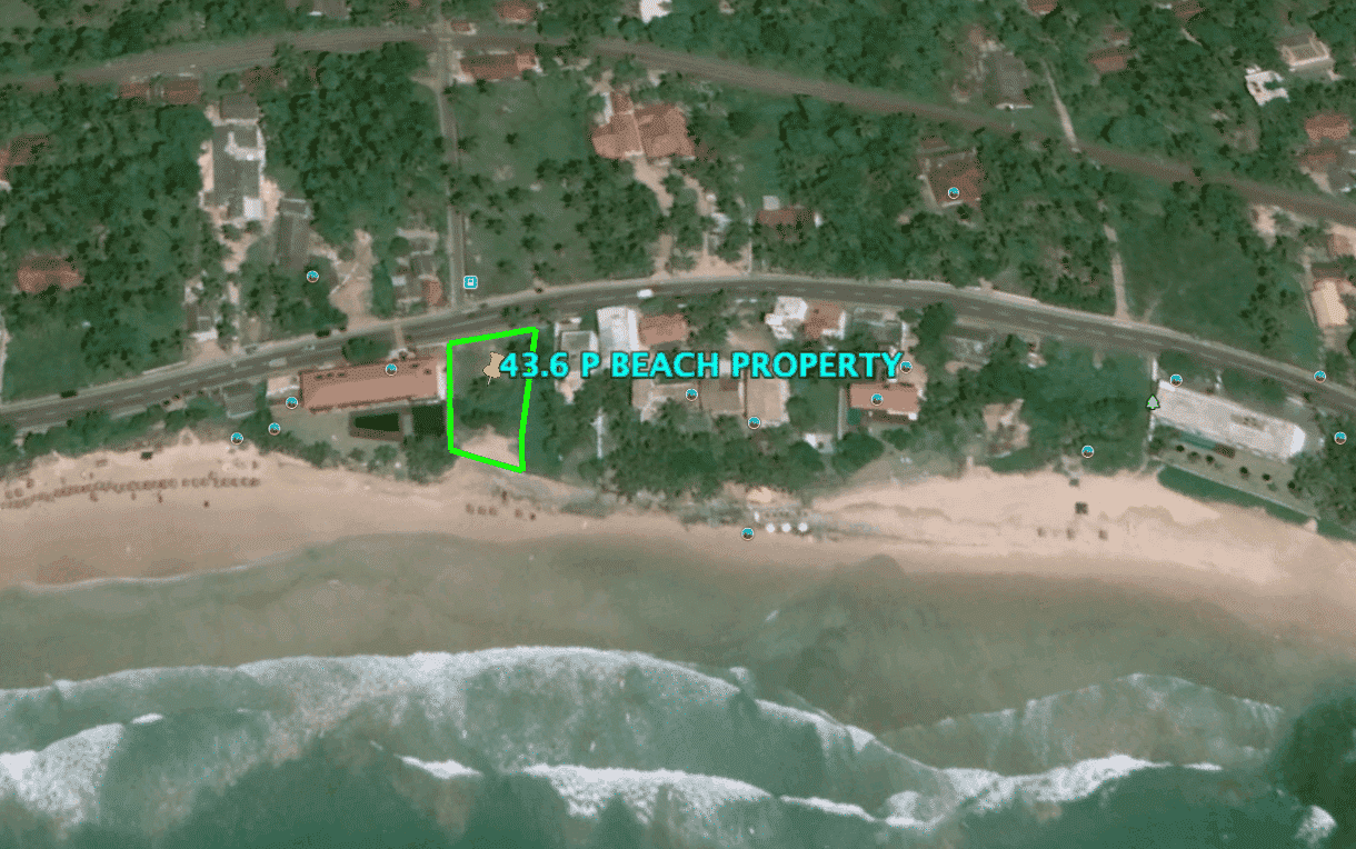 Rare beachfront property Kabalana
