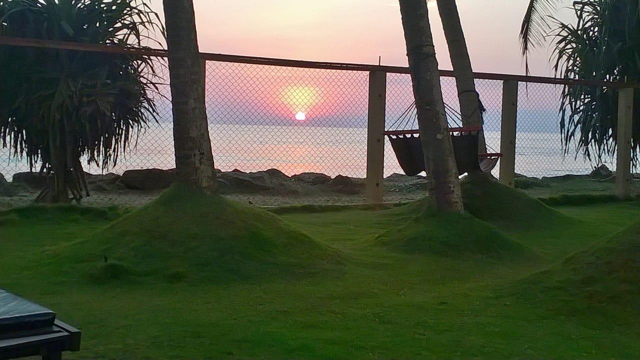 Boosa beach front bungalow
