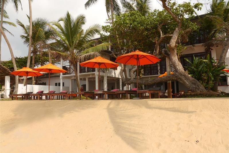 Hikkaduwa beach front hotel