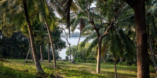 5 acres lakefront land within an estate
