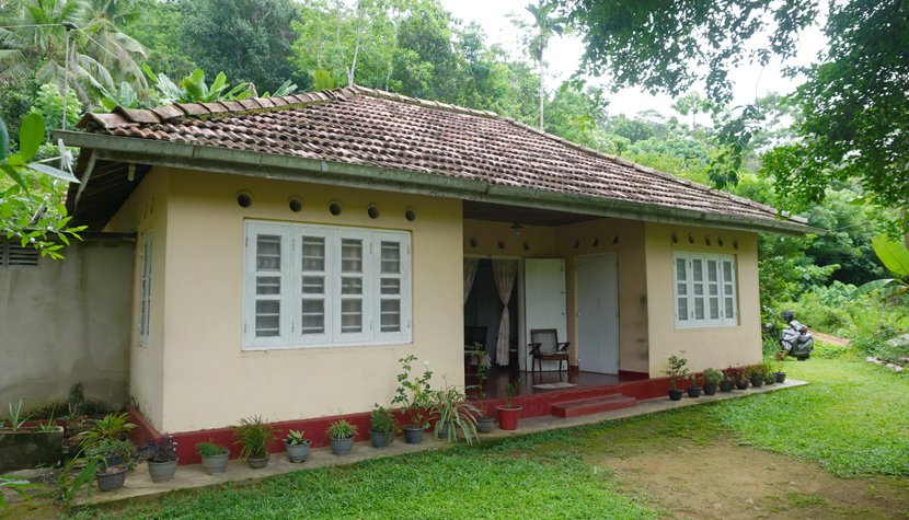 Charming 4-bedroom house with paddy views