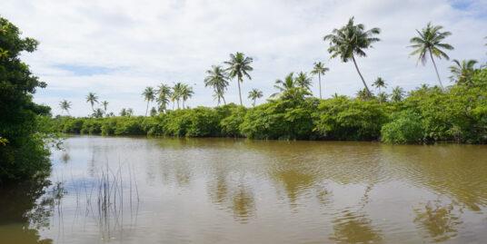 Peaceful Riverfront land