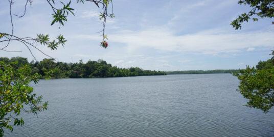 Wooden Cabanas overlooking Koggala Lake