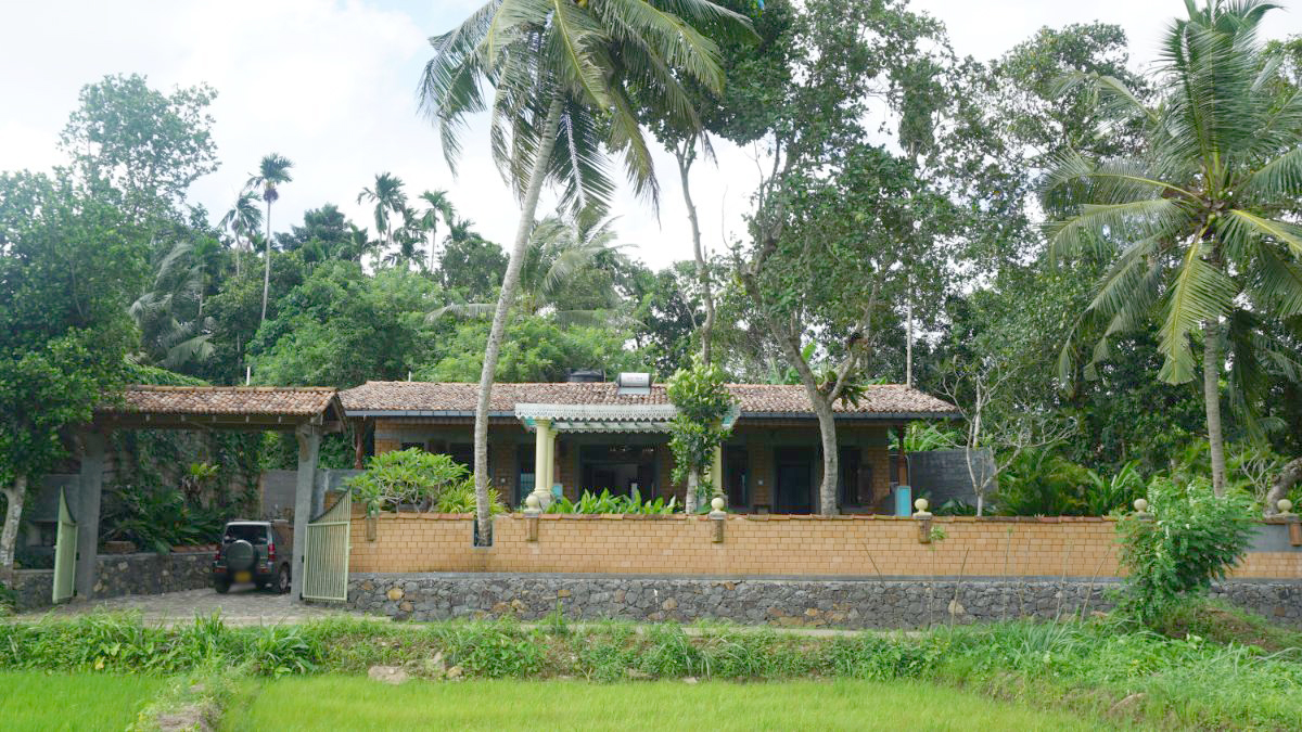Holiday Bungalow overlooking Paddy Field