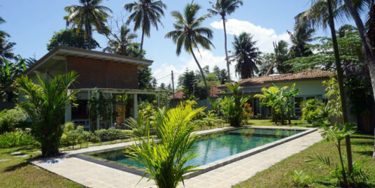 Boutique hotel set in a tropical oasis
