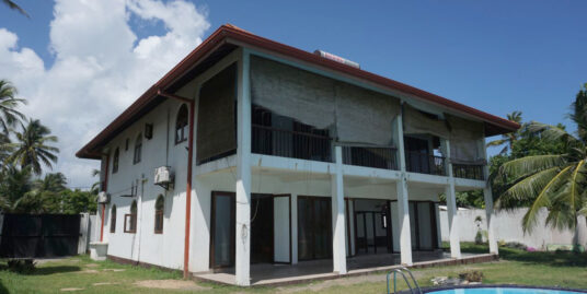 Beachfront Villa in Ahangama