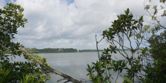Beautiful lake front land