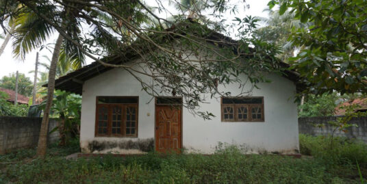 Ahangama land with bungalow
