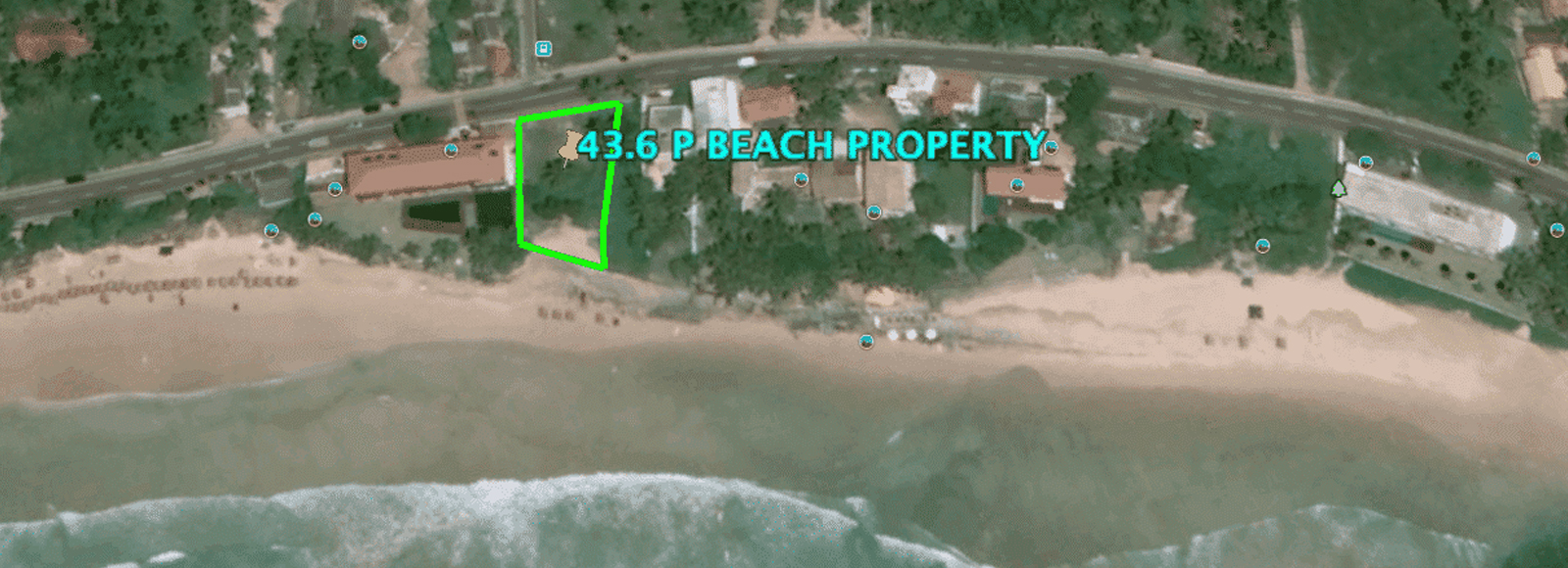 Rare beachfront property Kabalana