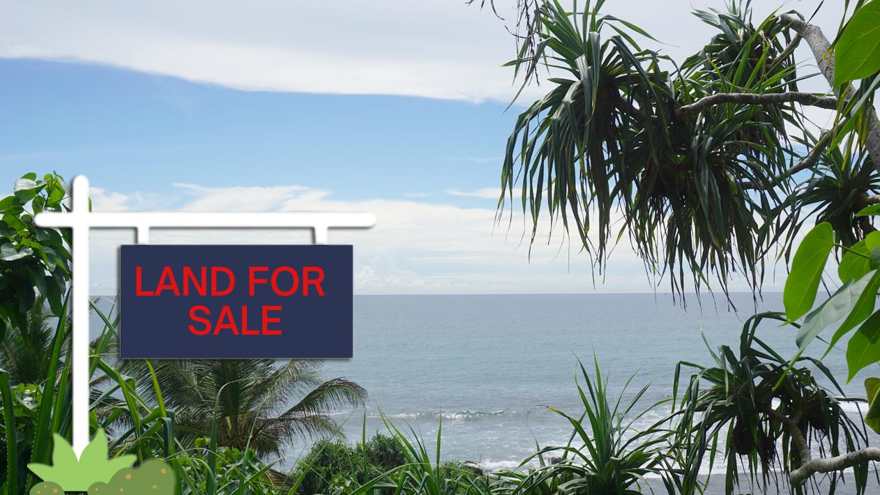 Ahangama sea view vacant land