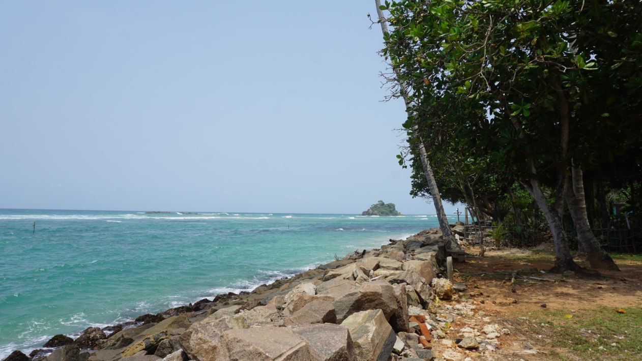 Midigama seaside location