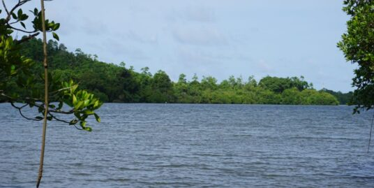 Kathaluwa West facing lakeside land
