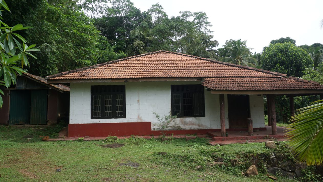 Meepe elevated land and house