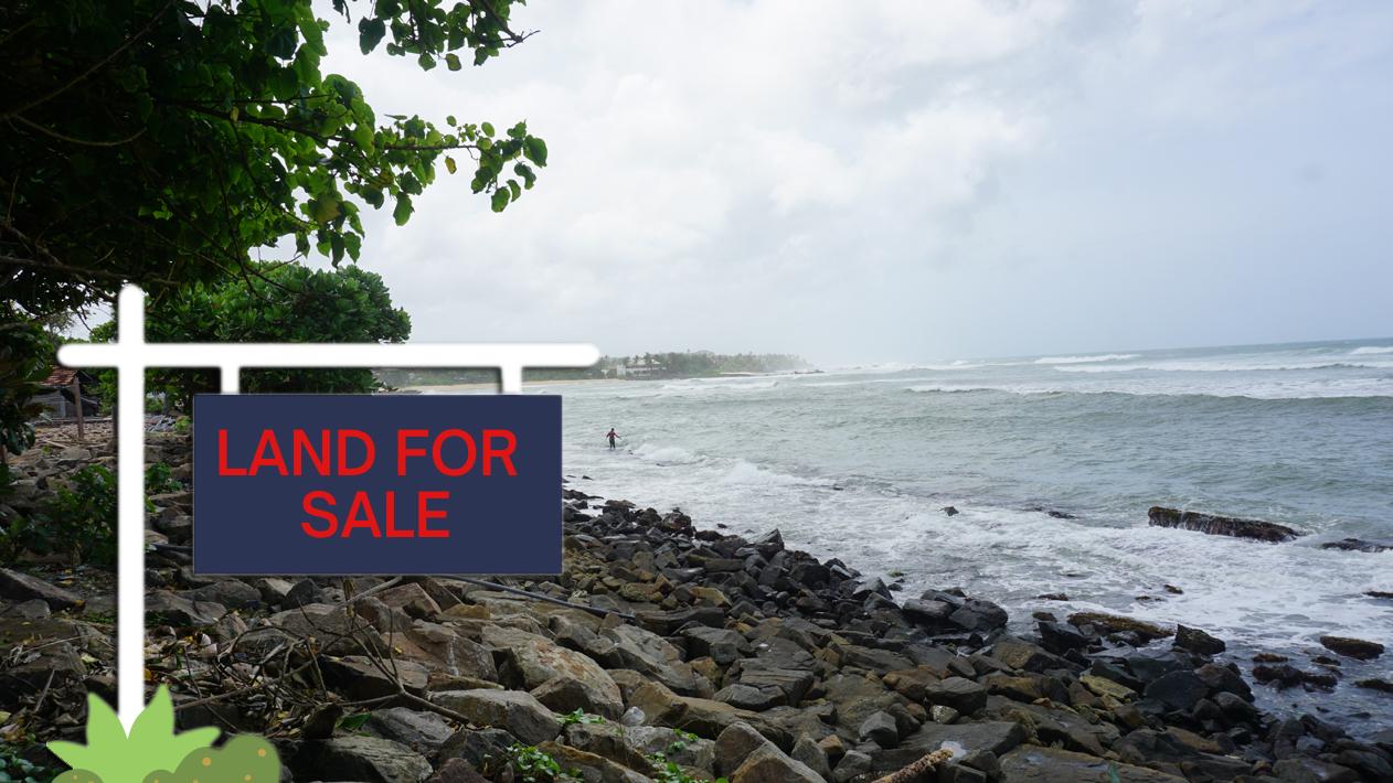 Midigama beachfront land