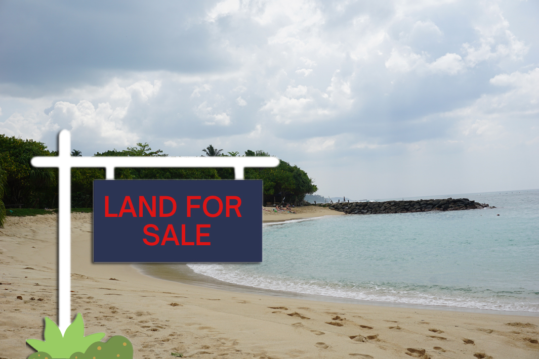 Land in Midigama close to the beach